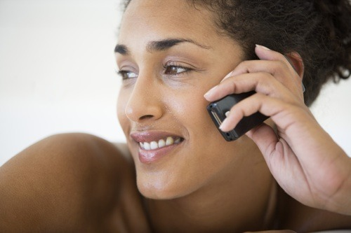 black-woman-phone