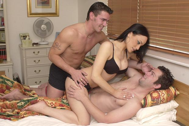 Threesome with wife and sister