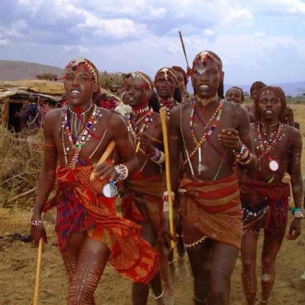 desire in  Africans naked tribe